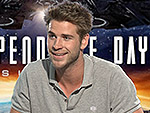VIDEO: Do Liam Hemsworth and Jeff Goldblum Have a Real Life Bromance?