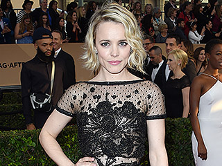VIDEO: Rachel McAdams Doesn't Want Elie Saab to Know She Did This in Her SAG Awards Dress!