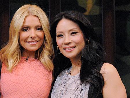 Watch Lucy Liu On Michael Strahan Leaving Live A Lot Of