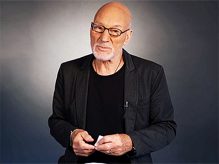 What Movie Changed Patrick Stewart's Life When He Was 13?