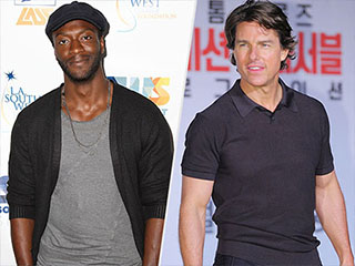 WATCH: Underground Star Aldis Hodge on Tom Cruise's Work Ethic: 'I Don't Think He Ever Sleeps'