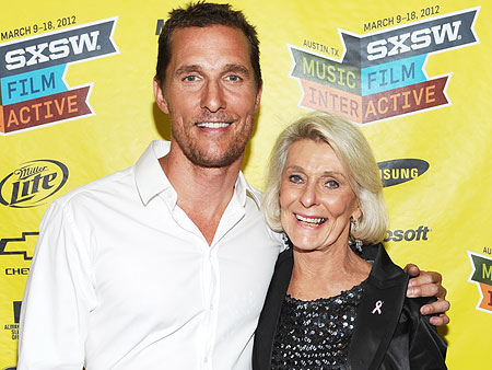 The Time Matthew McConaughey Turned on the TV and Saw His Mom Giving a Tour of His Childhood Bedroom