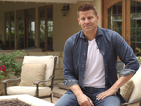Bones Star David Boreanaz Gives PEOPLE a Tour of His Backyard Oasis