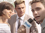 WATCH: Aaron Eisenberg Chats With Zac Efron and Aubrey Plaza at the Premiere of Mike and Dave Need Wedding Dates