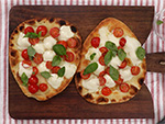 Take 5: Five-Minute Caprese Garlic Flatbread