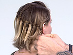 Attention Girls with Bobs and Lobs: You Have to Try This Waterfall Braid