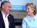 Did You Know Tim Kaine Is 'One Heck of a Harmonica Player?' He and Hillary Clinton Reveal All to PEOPLE