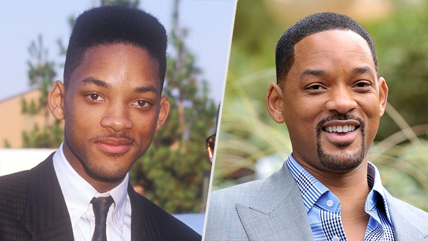 So Fresh! Check Out Will Smith's Changing Style