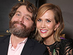 WATCH: How Did Zach Galifianakis and Kristen Wiig Beat the 100-Degree Weather in L.A.?