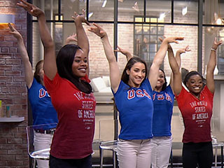 WATCH: Did You See the Final Five's Abs!? Tips From the Gymnasts on Getting Those Amazing Abs!