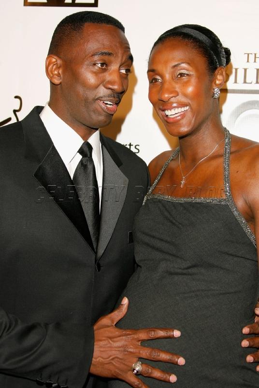 Lisa Leslie And Husband