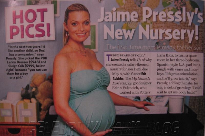 Jaime Pressly Shows Off Dezi James Nursery Moms