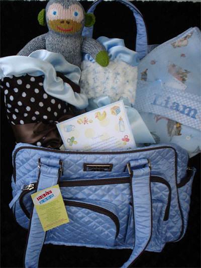 Max daniel baby selected for celebrity baby blog gifts to the max daniel baby is a premiere los angeles company that provides fabulous one of a kind custom baby gifts filled with quality adorable items from its own negle Choice Image