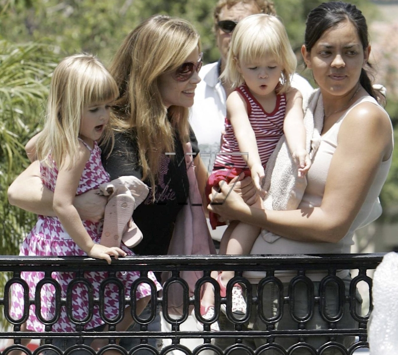 denise richards sam lola. Denise Richards, Sam, Lola and