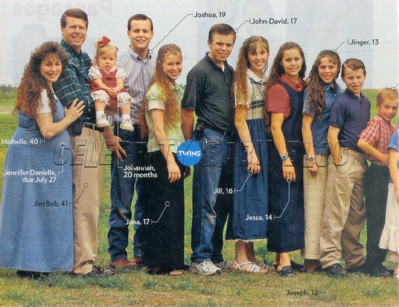 Duggar Girls Wear Pants