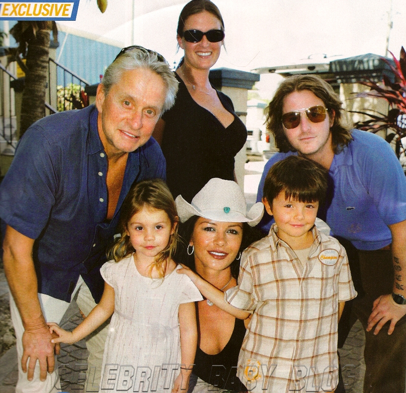 catherine zeta jones children