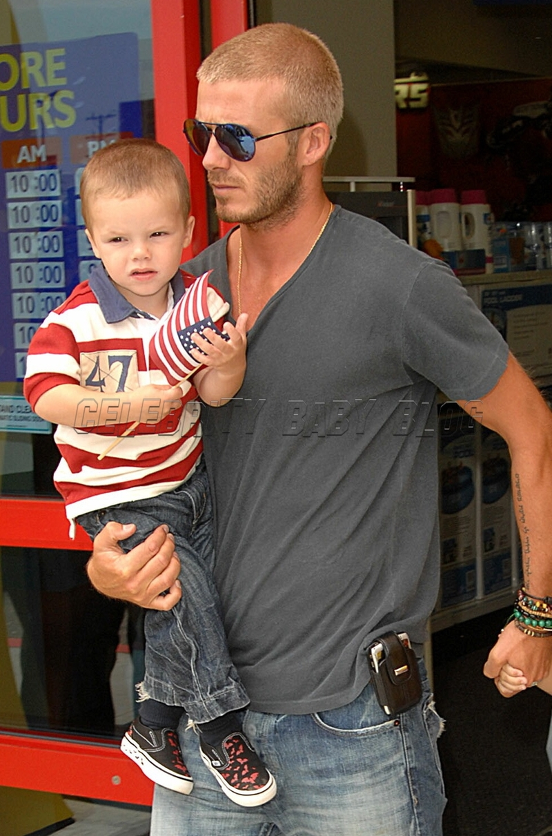 Romeo Beckham Moms Amp Babies Celebrity Babies And Kids