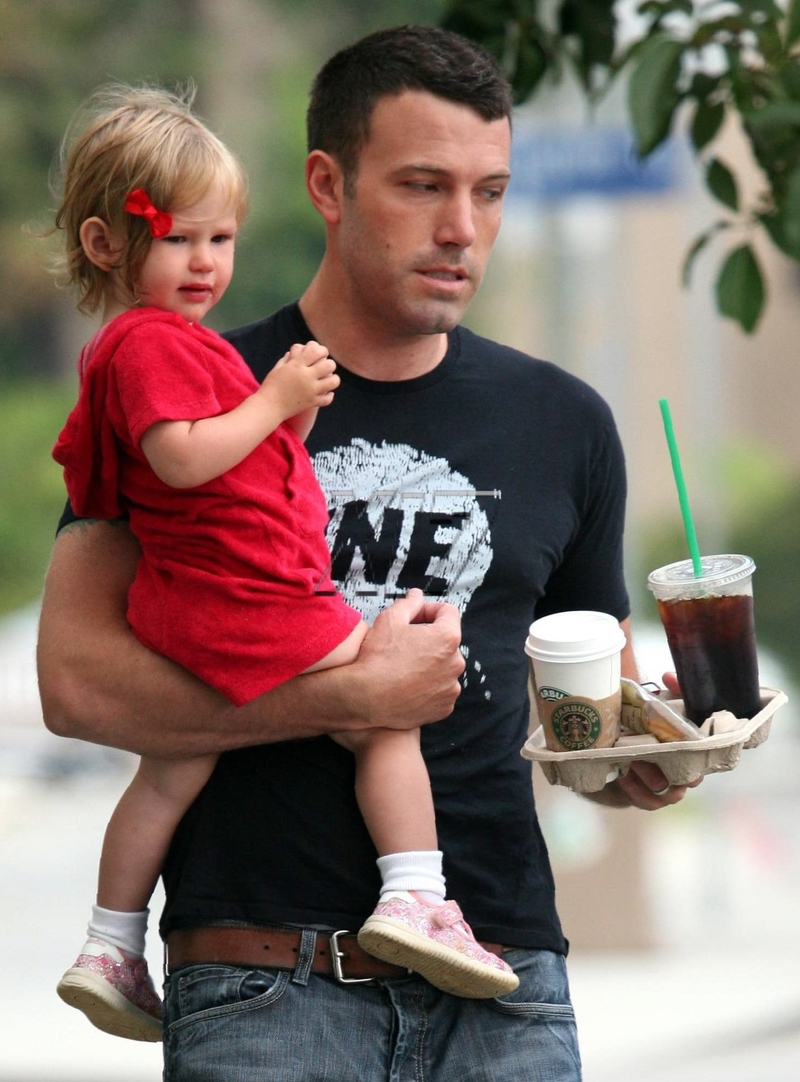 Ben And Violet Affleck Out On Tuesday Peoplecom