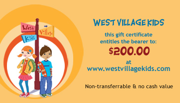 West_village_kidsgiftcertificate200