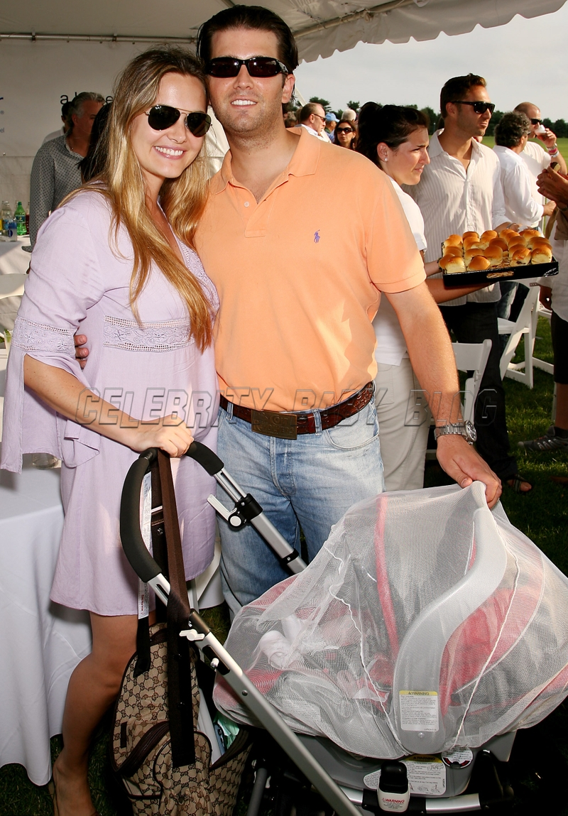 Gucci Benz >> Donald and Vanessa Trump Jr with Kai at Mercedes-Benz Polo ...