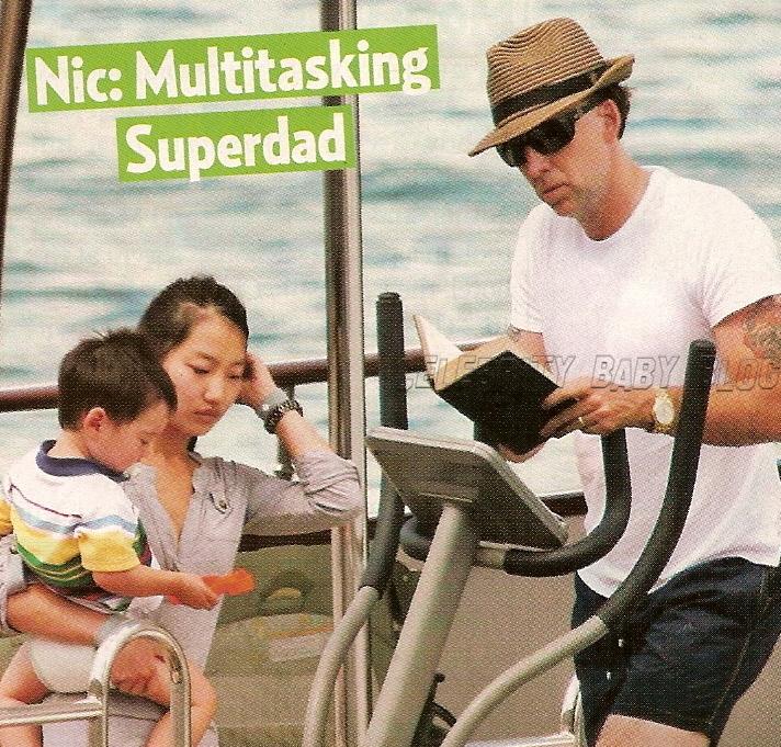nicolas cage wife. Nicolas Cage, 43, his wife