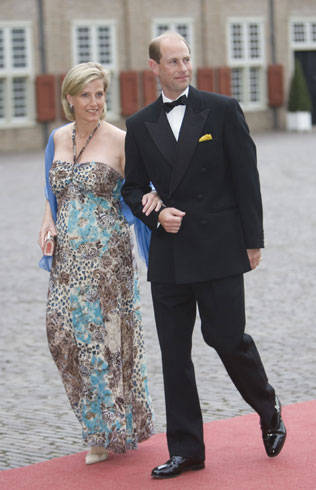 Countess Sophie Of Wessex And Prince Edward At Prince