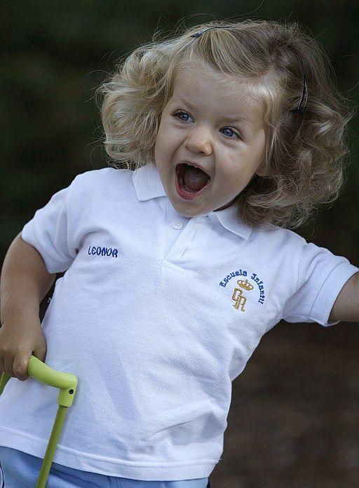 Princess Leonor Goes To Nursery School Moms Amp Babies