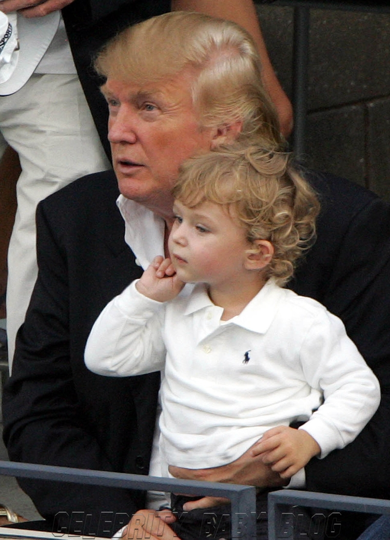 news barron trump melania donald youngest child about photos children