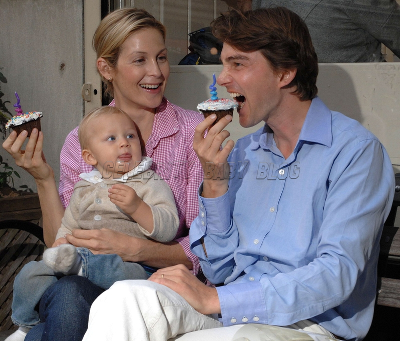 Actress Kelly Rutherford   38  and her husband Daniel Giersch    Kelly Rutherford And Daniel Giersch