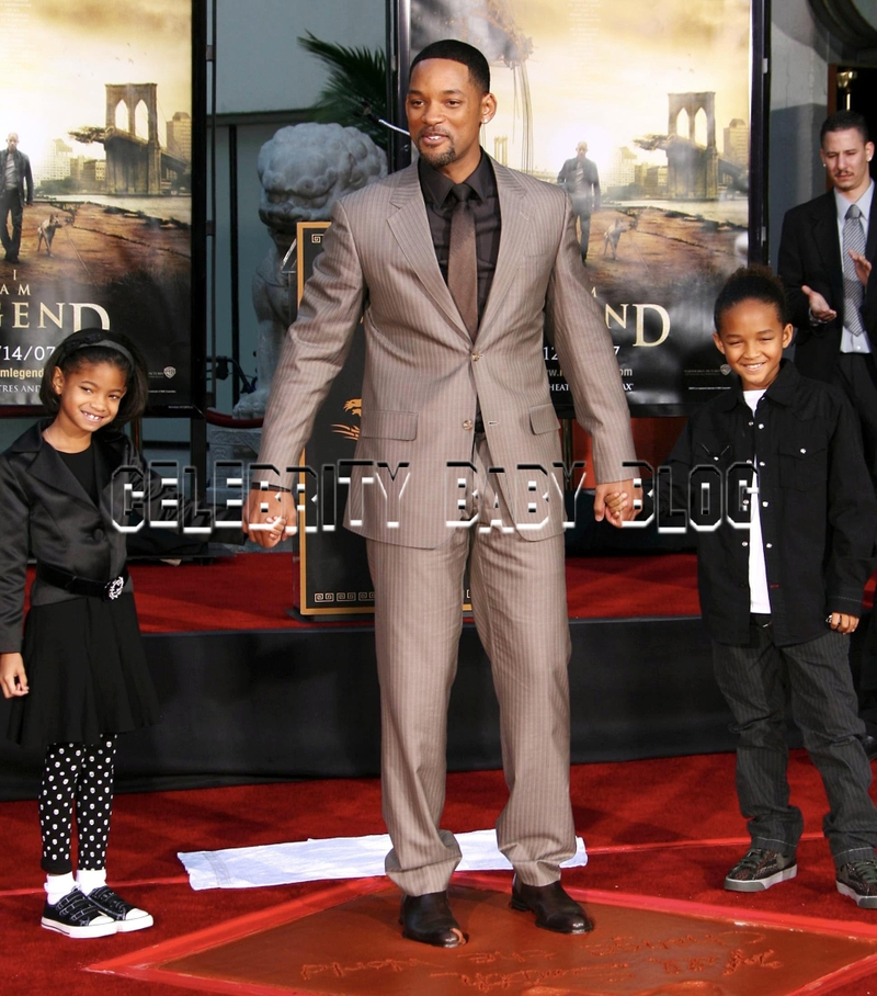 will smith and family photos. tattoo will smith family 2011.