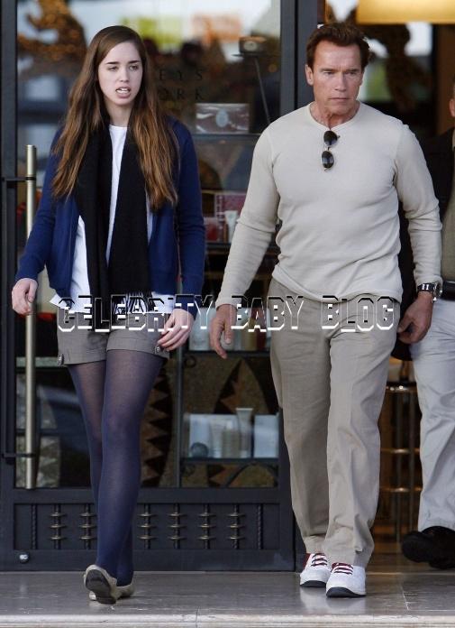 Motorcycle gloves pink - Arnold Schwarzenegger And Christina Shop At Barneys Moms Amp Babies