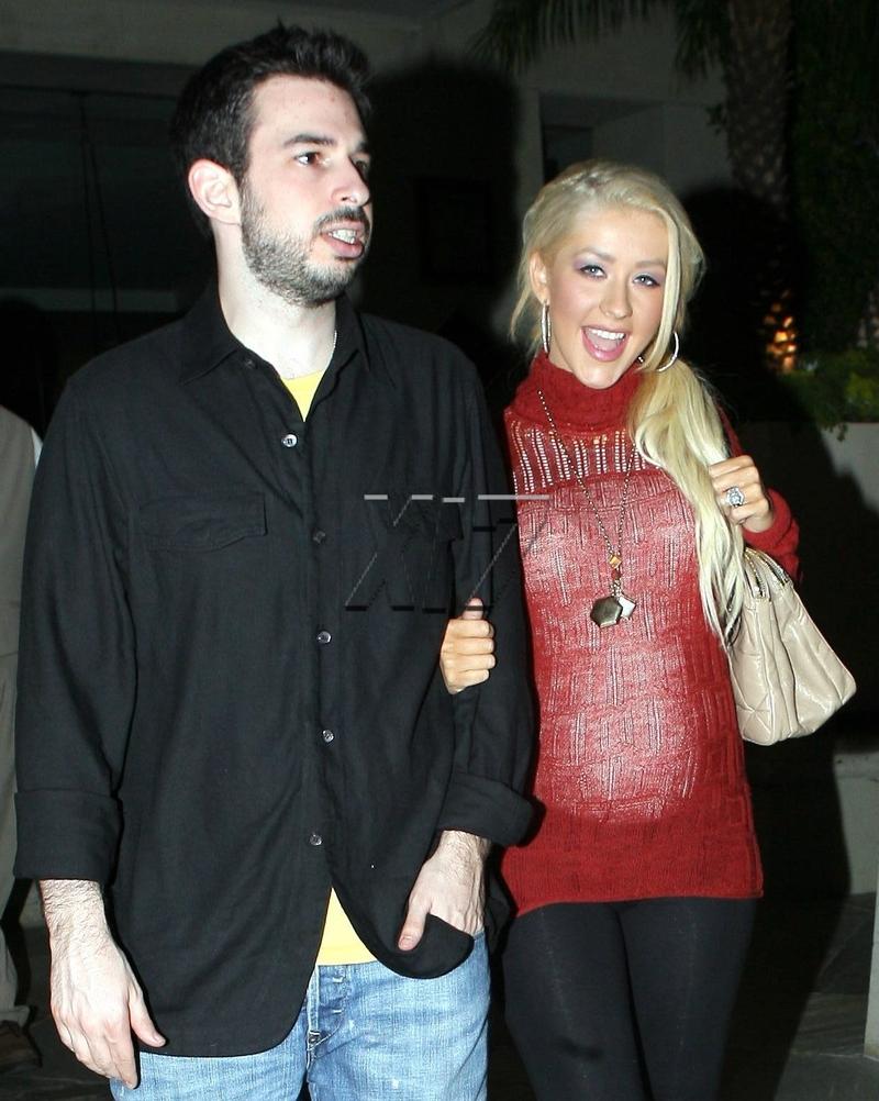 Christina Aguilera and Jordan Bratman welcome Max Liron