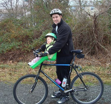 Ibert Safe T Seat Bicycle Safely With Your Toddler On