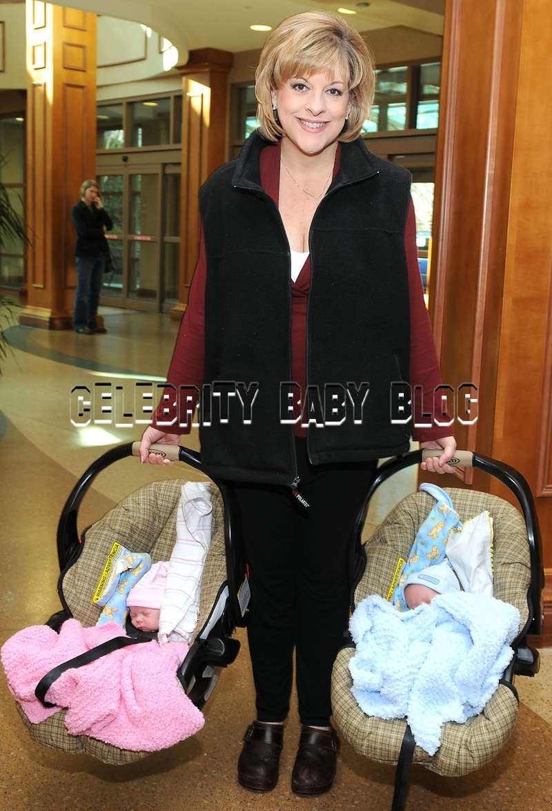 Nancy Grace Takes Twins To Doctor S Appointment Moms