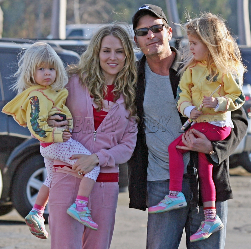 Charlie Sheen S Mediterranean Style Home In L A: Charlie Sheen And Brooke Mueller Takes Girls To The Zoo