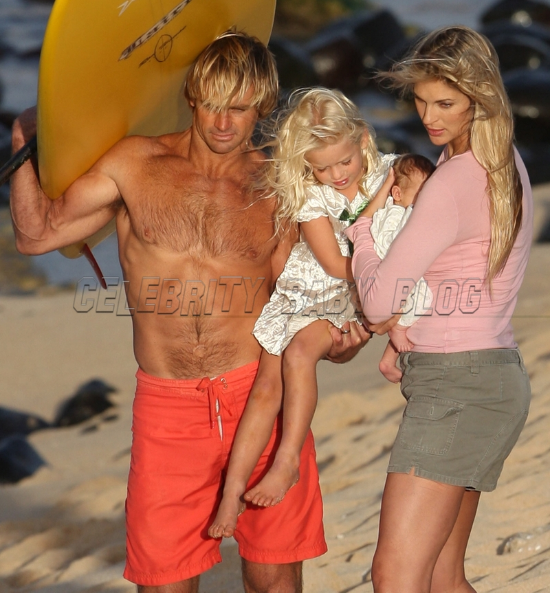 Gabrielle Reece, Laird Hamilton, Brody Jo and Reece Viola