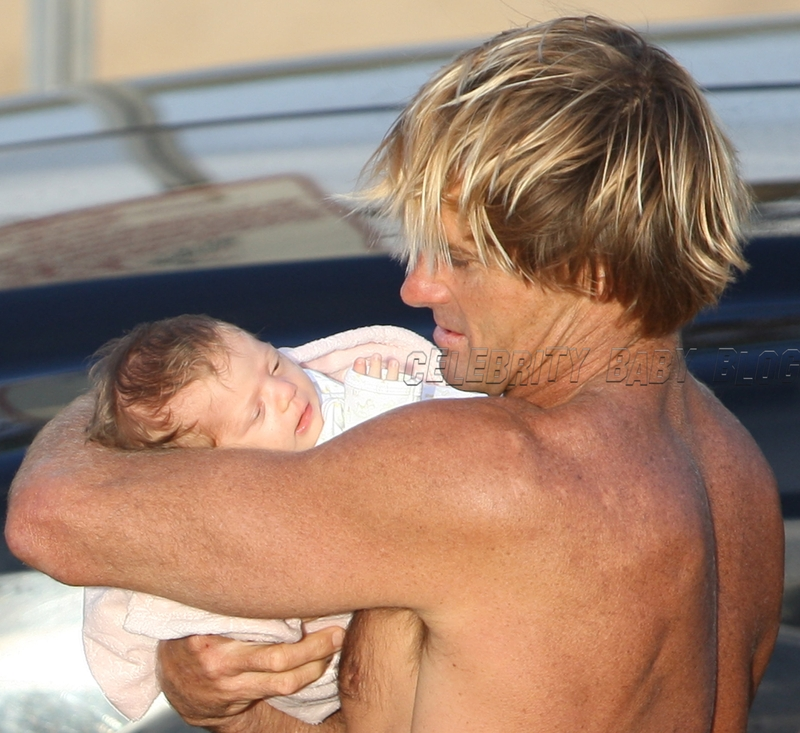 Laird Hamilton and Brody Jo