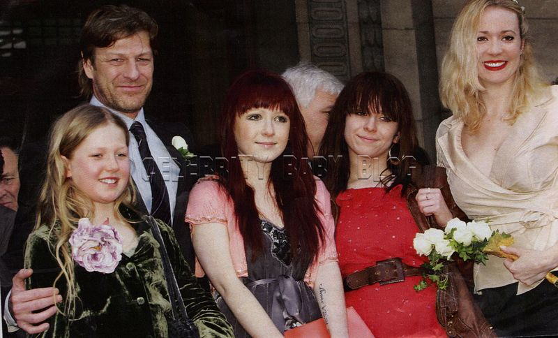 Photo of Sean Bean & his  Daughter  Evie Natasha Bean