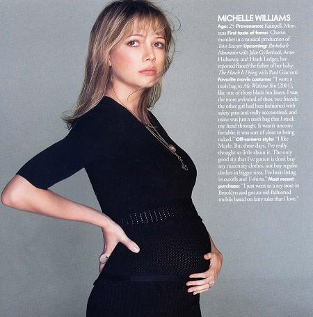Michelle Williams in Elle Magazine – Moms & Babies ...