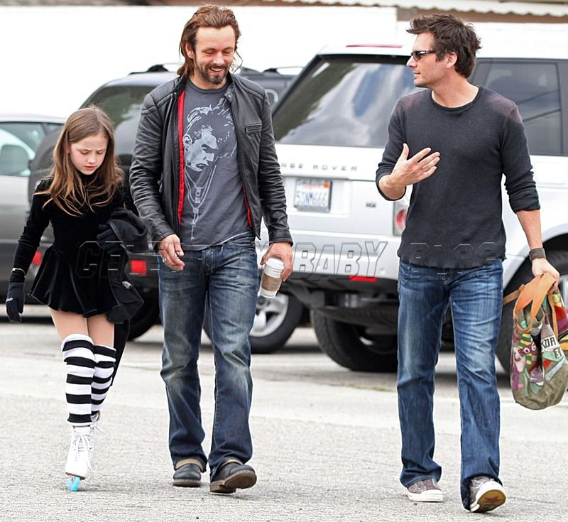 Kate Beckinsale And Michael Sheen Child