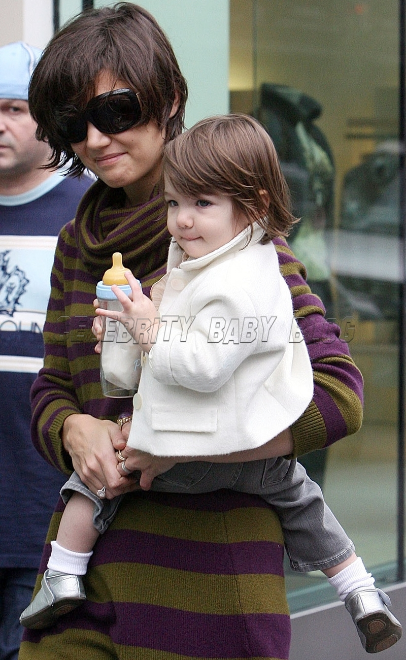 Celebrating Celebrity Baby Birthdays Suri Cruise Moms