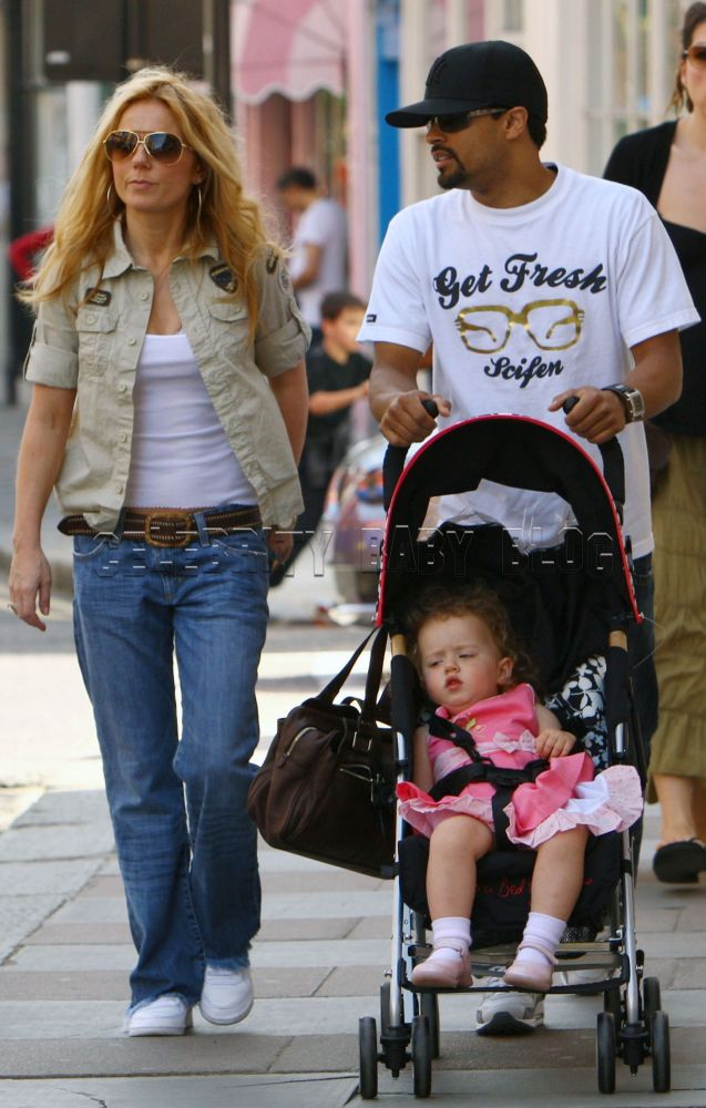 Geri Halliwell Ivan Velez And Bluebell Leave Book Store