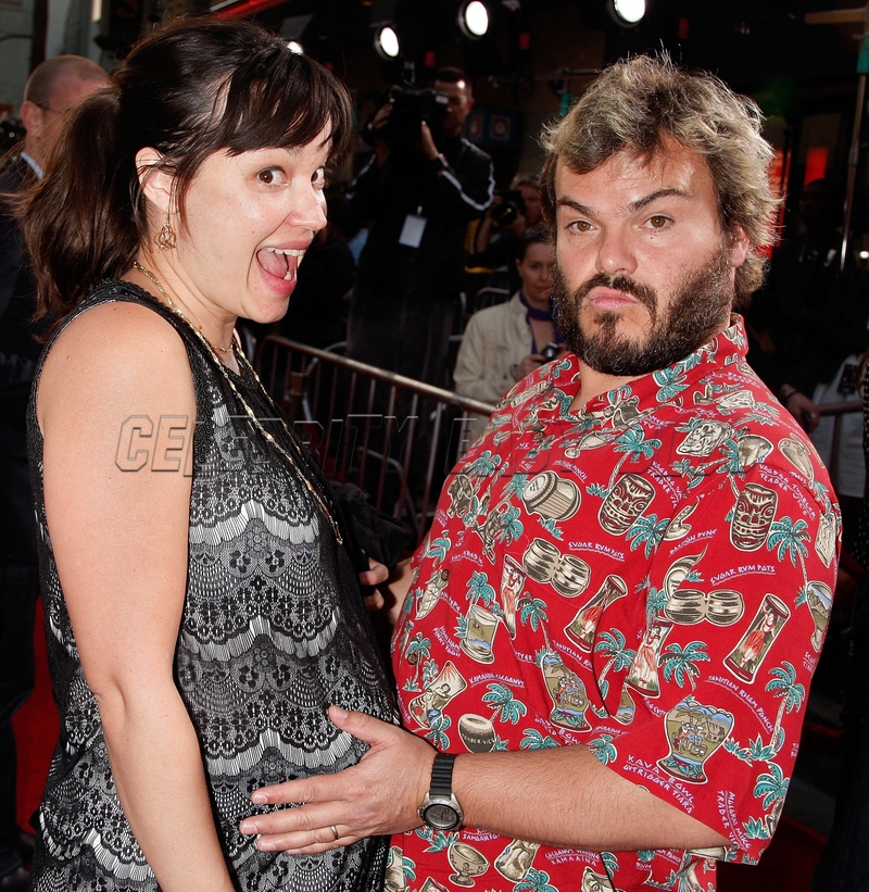 Jack Black couple