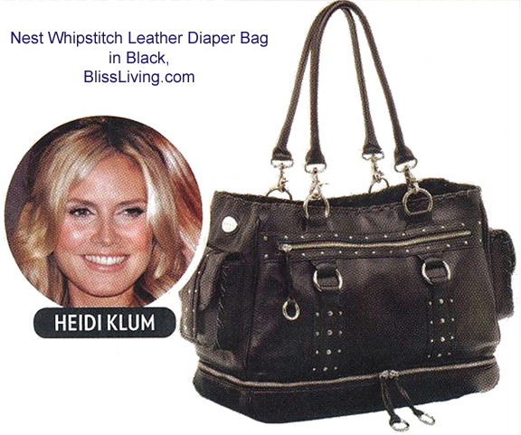 Update: Sponsor: Which designer diaper bag from BlissDiaperBags