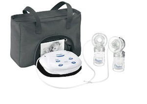 playtex electric double breast pump system