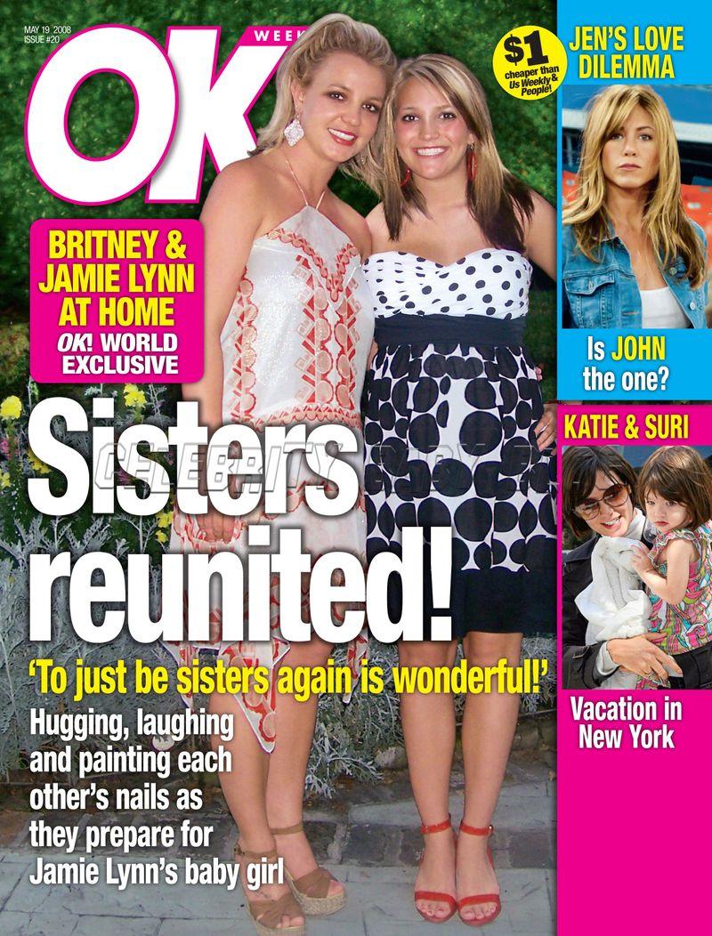 InTouch Magazine Britney Spears Katie Holmes March 17, 2008 NO ML 081017nonrh3