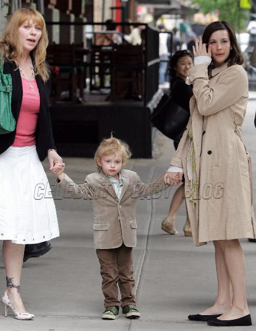 Bebe Buell Liv Tyler Milo Out Mother Day Moms