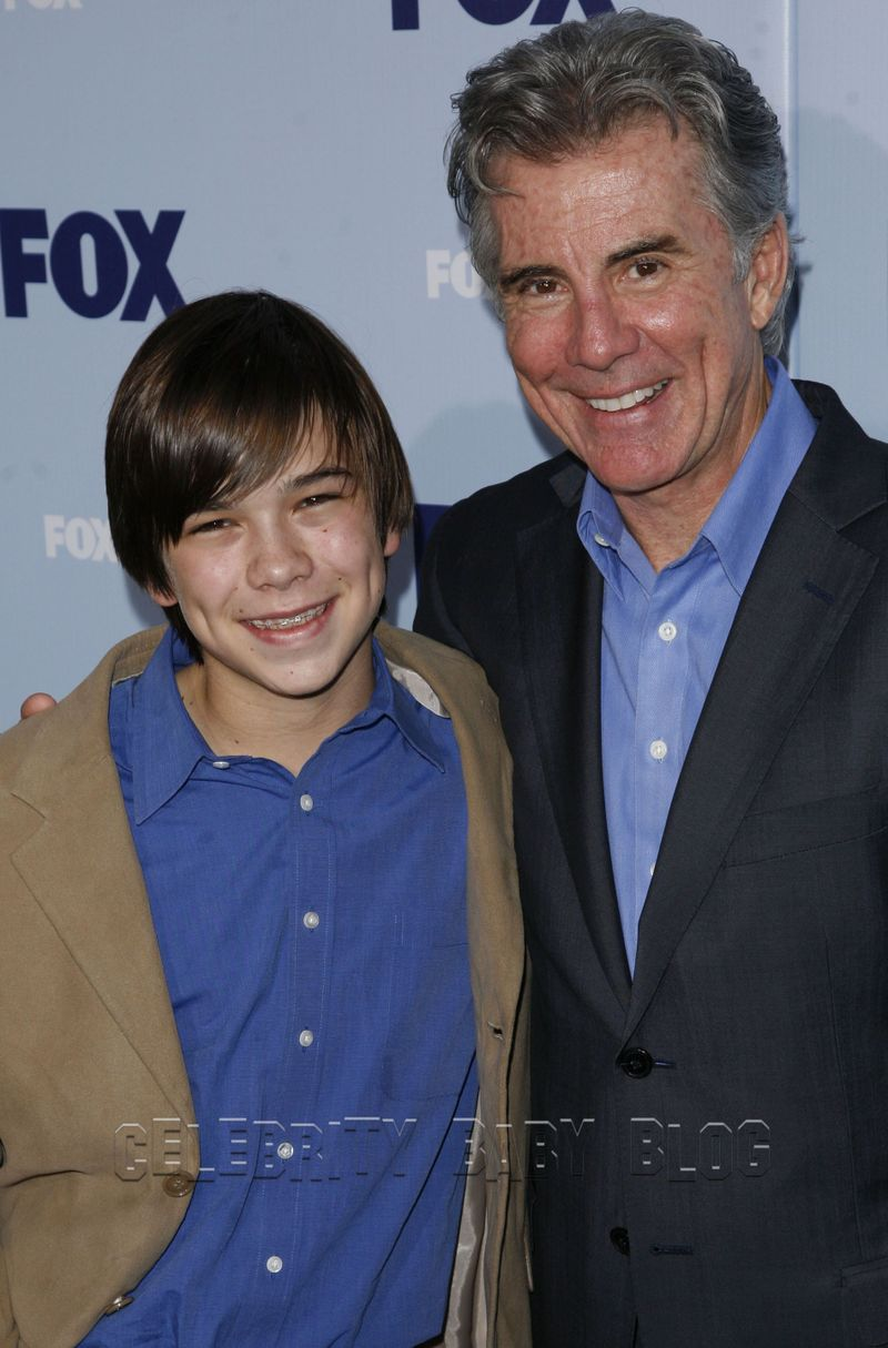 john and hayden walsh attend the fox television upfront
