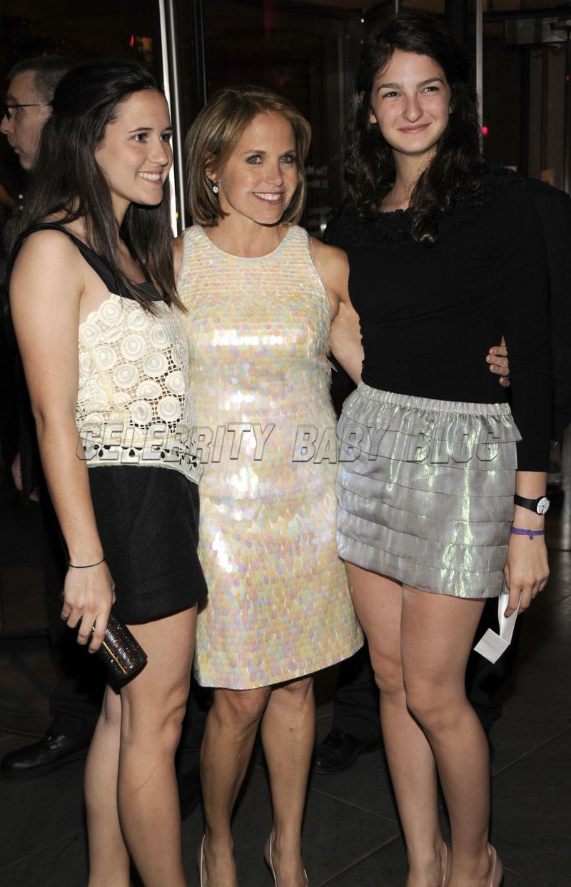 Katie Couric and Ellie attend Sex and the City afterparty