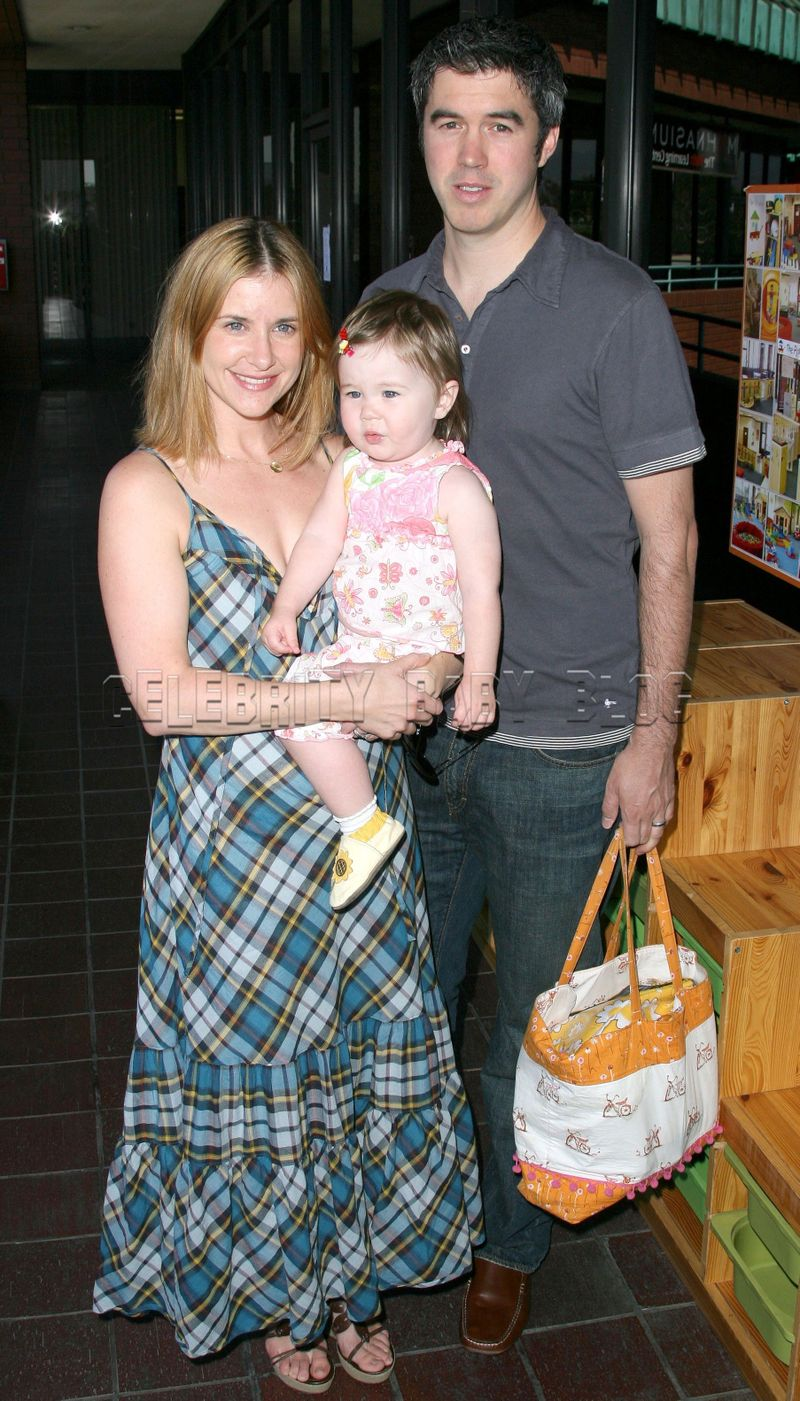 Kellie Martin and husband